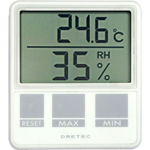 温湿度計:デジタル温度計湿度計(卓上・壁掛)O-214